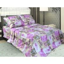 Постельное бельё Комфорт Текстиль - Фантазия розовый Бязь
