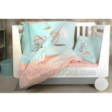 Набор постельного белья в кроватку Идея - Китти