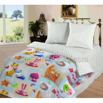 Постельное бельё Комфорт Текстиль - Плюшевый мир Поплин