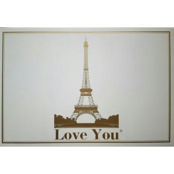 Постельное бельё Love You - Бонни и Клайд Сатин 3D