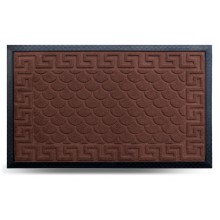 Коврик придверный MX, светло-коричневый, 45х75 см