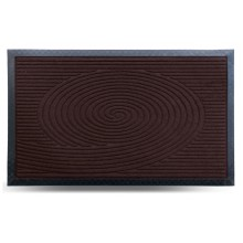 Коврик придверный MX, коричневый, 45х75 см