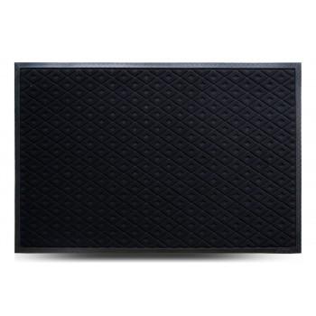 Коврик придверный MX, чёрный, 80х120 см