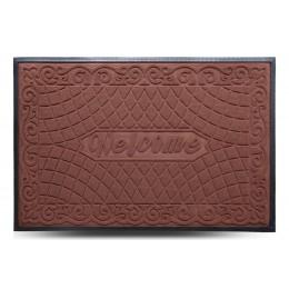 Коврик придверный MX, светло-коричневый, 80х120 см