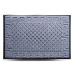 Коврик придверный MX, серый, 80х120 см