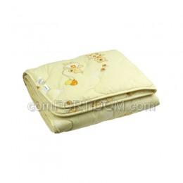 Одеяло Руно - 02ШУ Бежевое шерстяное детское