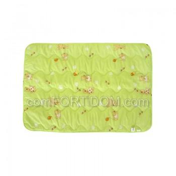 Одеяло Руно - 02ШУ Салатовое шерстяное детское