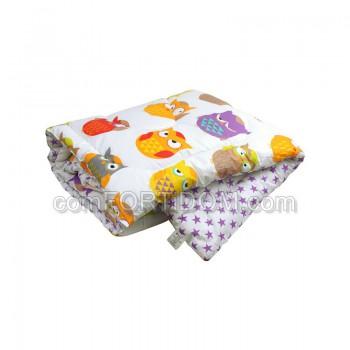 Одеяло Руно - 137 Совы силиконовое детское