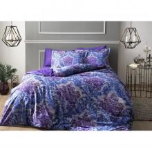 Постельное бельё Tac Digital - Solandis фиолетовый Сатин