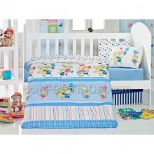 Детское постельное белье для младенцев Eponj Home - Pitircik Mavi