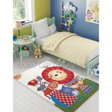 Ковер в детскую комнату Confetti - Lion King оранжевый