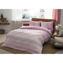 Постельное бельё Tac Flanel - Betsy розовый