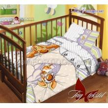 Постельное бельё ТАГ - Пес в пижаме Поплин в кроватку