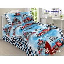 Постельное бельё ТАГ - Formula 1 Поплин Подростковый