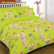 Постельное белье Вилюта - 4457 Зелёный Ранфорс в кроватку